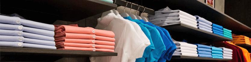 Маркированная одежда для розницы